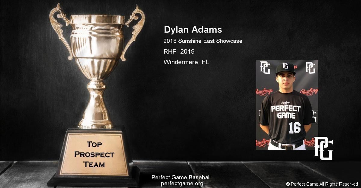 Dylan Adams 2019 graduate
